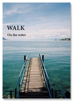 WALK zine On the water