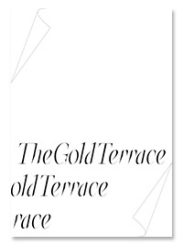 [재입고] The Gold Terrace